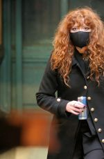 Natasha Lyonne Filming a night scene at the Astor Place subway station for