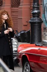 """Natasha Lyonne On Location with """"Russian Doll"""" in NYC"""