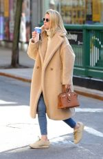 Nicky Hilton Looks stylish while on a coffee run in Downtown Manhattan