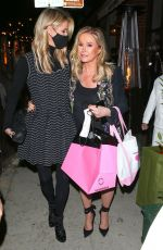 Nicky Hilton Seen leaving Mr Chow with her mom on her birthday in Los Angeles