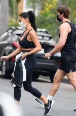 Nicole Scherzinger Spotted after gym workout in LA