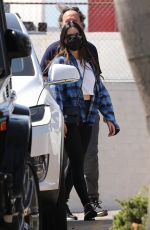 Olivia Munn Spotted leaving the gym in Santa Monica