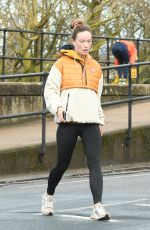 Olivia Wilde Out in London