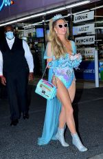 Paris Hilton Leaving a Halloween party in LA