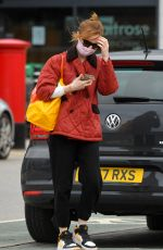 Phoebe Dynevor Out shopping in Manchester