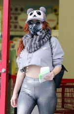 Phoebe Price Seen picking up a ink cartidge at Staples on Sunday in Los Angeles
