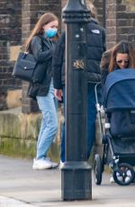 Pippa Middleton Seen out for first time with her new baby girl Grace in London