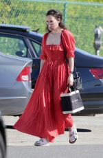 Rumer Willis Spotted arriving to a gifting suite in Beverly Hills