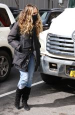 Sarah Jessica Parker arrives for another day at SJP in NYC