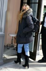 Sarah Jessica Parker Going to her store in New York