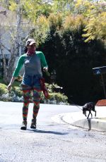 Sarah Silverman and Duck go for a afternoon Hike