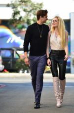 Saxon Sharbino Out for lunch in Los Angeles