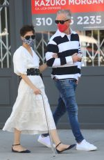 Selma Blair Out walking with her boyfriend Ron Carlson in West Hollywood