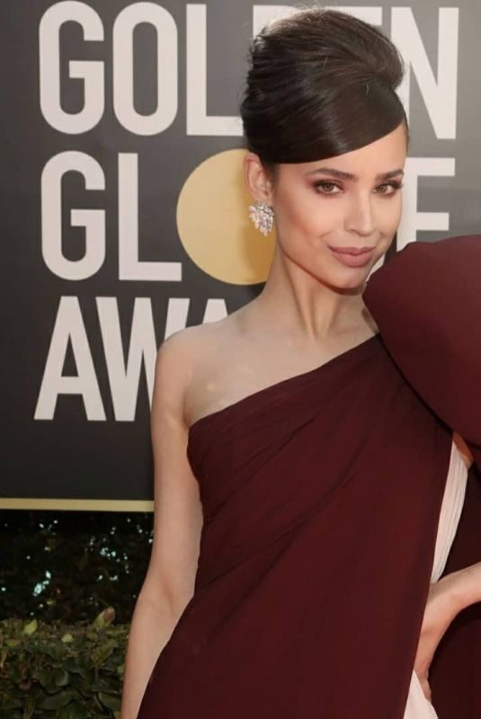 Sofia Carson At 78th Annual Golden Globe Awards in Beverly Hills