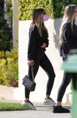 Sofia Richie After a private workout in LA