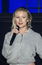 Zara Larsson Is seen rehearsing for her virtual concert in Stockholm