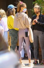 Alessandra Ambrosio Enjoys lunch with her friends at the Soho House Malibu