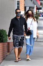 Alessandra Ambrosio Heading to lunch in Brentwood