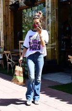 Alessandra Ambrosio Stops by Kreation with her boyfriend in Brentwood