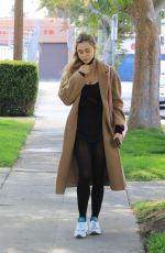 Alexis Ren Spotted out at a ballet class in Los Angeles