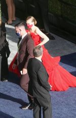 Amanda Seyfried Arriving at the 93rd Annual Academy Awards at Union Station in Los Angeles