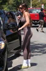 Amelia Gray Hamlin Looks amazing leaving her Pilates class in West Hollywood