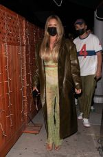 Anastasia Karanikolaou (aka Stassiebaby) turns heads while stepping out at the Nice Guy in West Hollywood