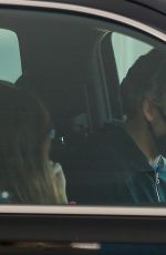 Anne Hathaway Looks pensive while running errands with hubby Adam Shulman in Los Angeles