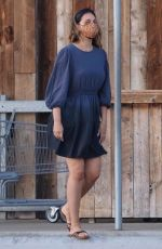 April Love Geary Goes shopping at Vintage Grocers in Malibu