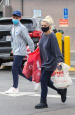 Ariel Winter Shops with a friend at Urban Outfitters and SVC pharmacy in Studio City