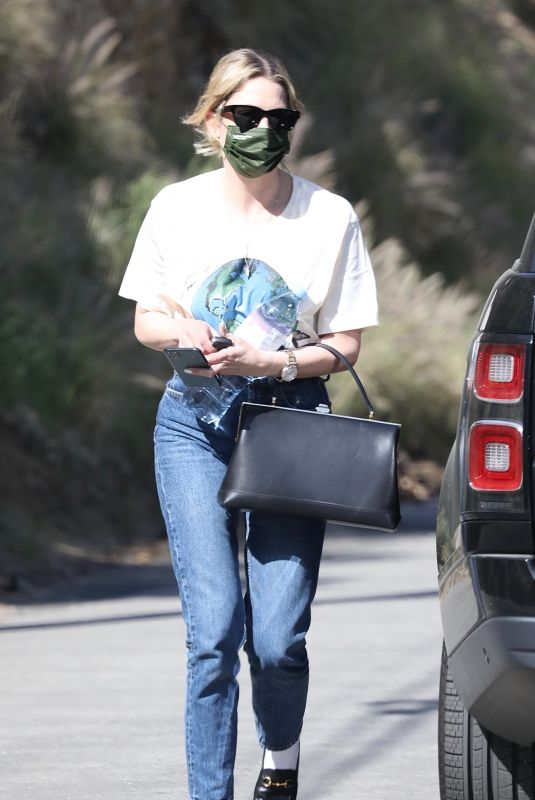 Ashley Benson Out in Malibu