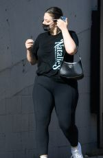 Ashley Graham Spotted leaving a gym in Los Angeles