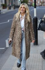 Ashley Roberts Out with friends in London