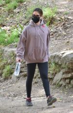 Ashley Tisdale Out for a hike in Los Feliz