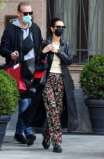 Bella Hadid With her bodyguard while pictured wearing a protective face mask while leaving her hotel and jetting off from Milan