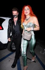 Bella Thorne Arrives with her fiance at No Vacancy in Los Angeles