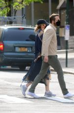 Blake Lively On a walk in New York