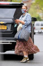 Busy Philipps Looks like she left the house wearing everything she owns as she runs errands in New York