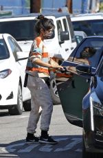 Camila Cabello Seen out for her morning coffee in West Hollywood