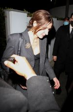 Cara Delevingne & Paris Jackson seen leaving a private Oscars party in Bel Air