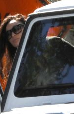 Cara Santana And boyfriend Shannon Leto are seen out after grabbing lunch in West Hollywood