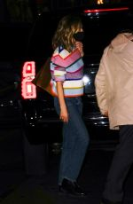 Carey Mulligan Runs into her hotel after her SNL performance in New York