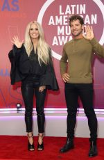 Carrie Underwood At 2021 Latin American Music Awards, Rehearsals at the BB&T Center in Sunrise, Florida