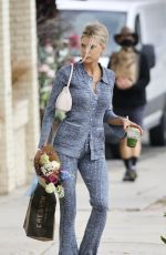 Charlotte McKinney Heads out for flowers and a coffee in Los Angeles