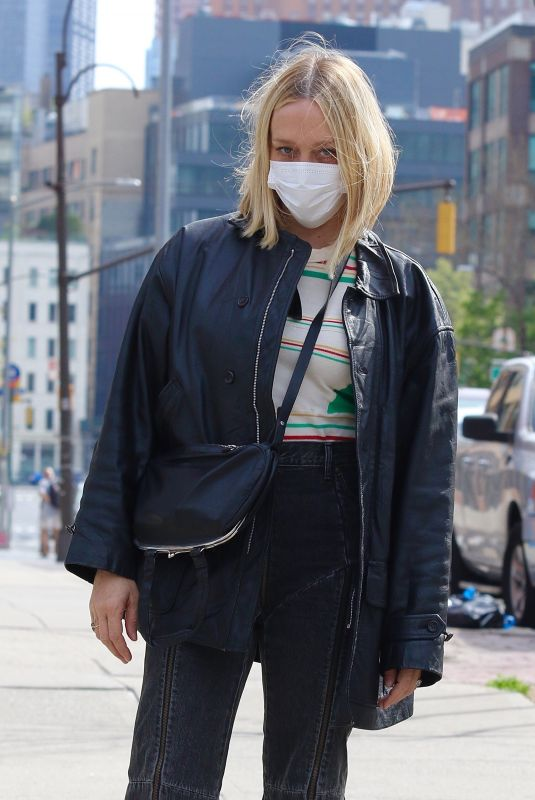 Chloe Sevigny Looks stylish while out for a walk in NYC