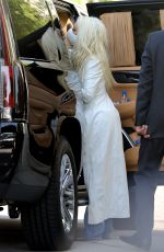 Christina Aguilera Arriving to The Peninsula Hotel in Beverly Hills