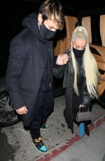 Christina Aguilera At the Nice Guy in West Hollywood