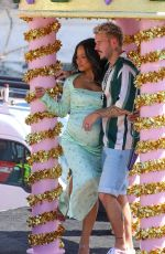 Christina Milian Celebrates the grand opening of her Beignet Box Cafe in Studio City