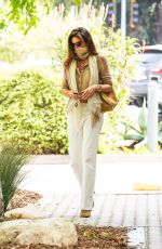 Cindy Crawford Seen this Tuesday making a quick visit to Cafe Habana in Malibu