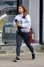Coleen Rooney Seen leaving The Style Lounge Hair Salon in Alderley Edge in Cheshire